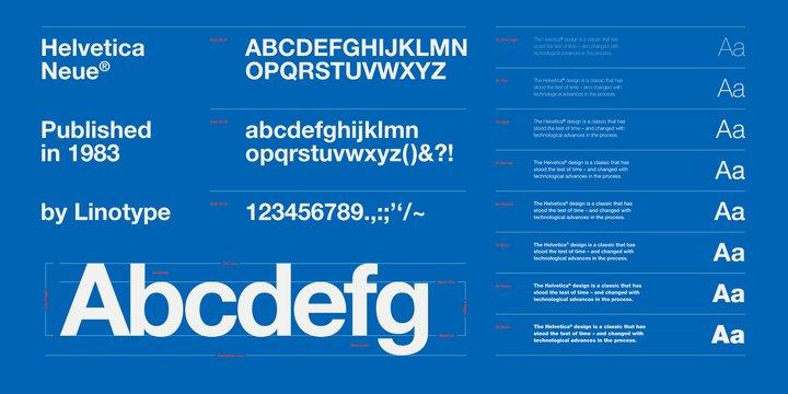 Neue Helvetica Font   PC Font Download